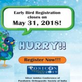 POSICON 2019 – Silver Jubilee Conference of Paediatric Orthopaedic Society of India 2019